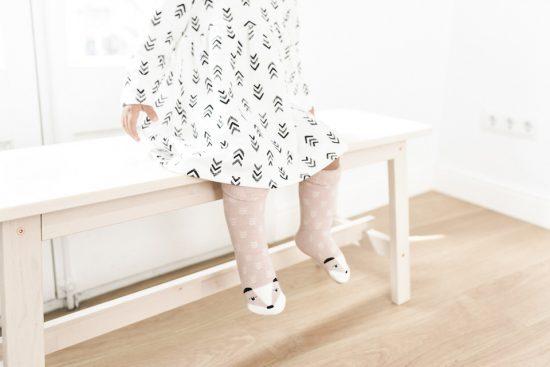 Vestido y calcetines Dear Mini
