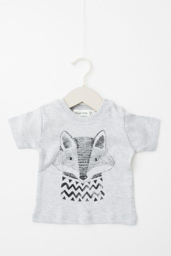 Camiseta zorrito Dear Mini